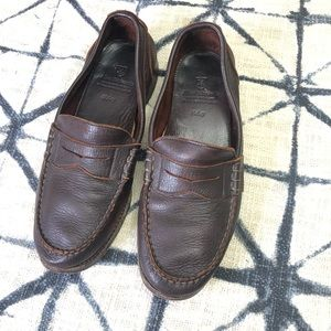 10.5 Allen Edmonds  Haley Burgandy Loafers